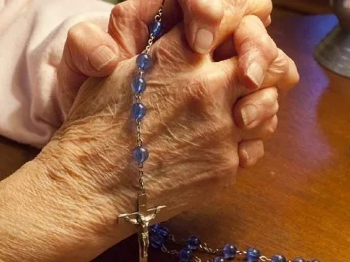 Jennie Stejna,103 Year Old Great Great Grandmother beat coronavirus, she celebrated with a beer svg | Corona Virus : शंभरीच्या आजीनं कोरोनाला हरवलं; Celebration असं केलं की काय विचारता!