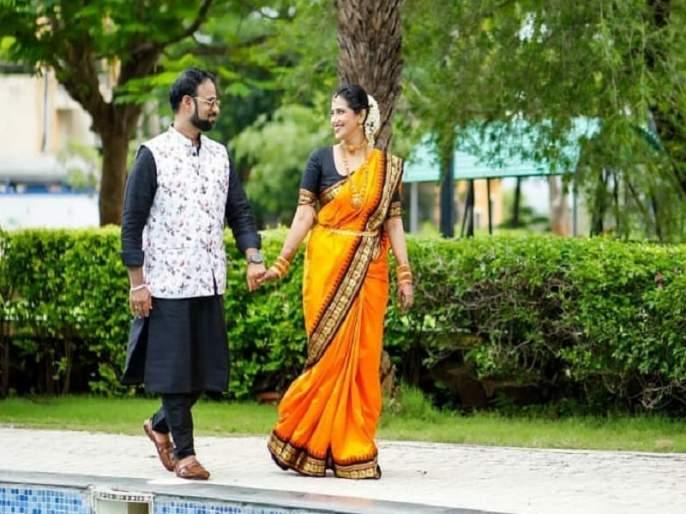 Never seen 'Bigg Boss', never seen series and movies .., this is the love story of Sharmishtha and Tejas | नापाहिले 'बिग बॉस', नापाहिल्या मालिका व सिनेमे..,अशी आहे शर्मिष्ठा व तेजसचीलव्हस्टोरी