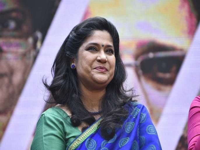 Renuka Shahane getting frustrated because of Bigg Boss Marathi 2 contestant Kishori Shahane's surname   'बिग बॉस मराठी२'च्या 'या' सदस्यामुळे रेणुका शहाणेंना झाला नाहक मनस्ताप