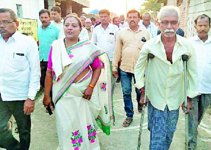 Maharashtra Election 2019 ; Yashwati Thakur's public relations tour in Tewasa constituency | Maharashtra Election 2019 ; तिवसा मतदारसंघात यशोमती ठाकूर यांची जनसंवाद यात्रा