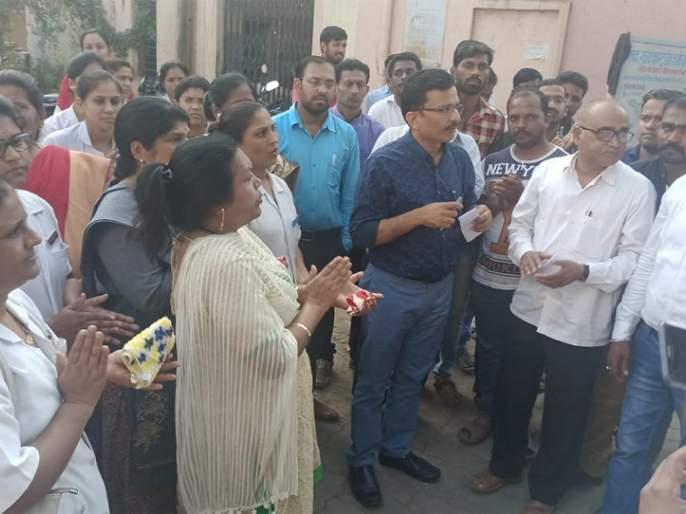 Armed Police Settlement at Beed District Hospital | बीड जिल्हा रूग्णालयामध्ये यापुढे शस्त्रधारी पोलिसांचा बंदोबस्त