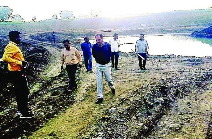 Illegal excavation of secondary mineral required for 'Samruddhi Highway' | 'समृद्धी'साठी लागणाऱ्या गौण खनिजाचे अवैध उत्खनन
