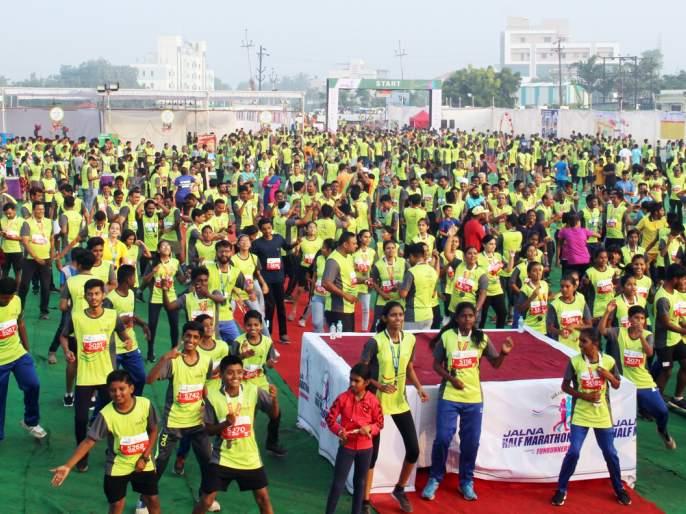 The message of health promotion delivered in an exciting environment ... | उत्साहपूर्ण वातावरणात दिला आरोग्य संवर्धनाचा संदेश...