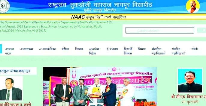 Laziness of Nagpur University; 'Rao' is still governor | नागपूर विद्यापीठाचा लेटलतिफपणा ; अद्यापी 'राव'च राज्यपाल