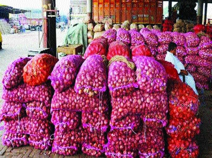 Impressions on onion traders in Nashik district | नाशिक जिल्ह्यातील कांदा व्यापाऱ्यांवर छापे