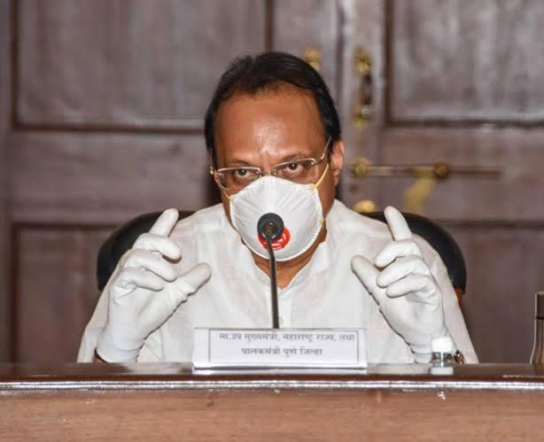 Deputy Chief Minister Ajit Pawar is active even during the period of home separation; The continues to work by 'this' formula | गृह विलगीकरण काळातही उपमुख्यमंत्री 'अॅक्टिव्ह' ; 'हा' फॉर्म्युला वापरून कामाचा धडाका सुरुच