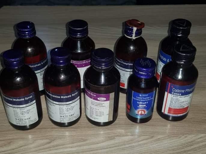 Dung seized bottles of drugs in a woman's house | धुळ्यात महिलेच्या घरातून गुंगीच्या औषधांच्या बाटल्या जप्त
