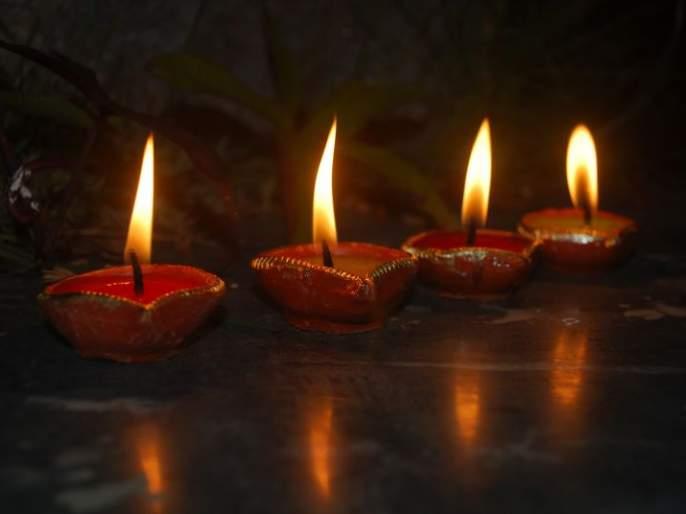 Lighting millions of lamps at Ghorad in Wardha district on Tripuri Pournima   त्रिपुरारी पोर्णिमेनिमित्त वर्धा जिल्ह्यातील घोराड येथे लाखो वातींचा जळणार त्रिपूर