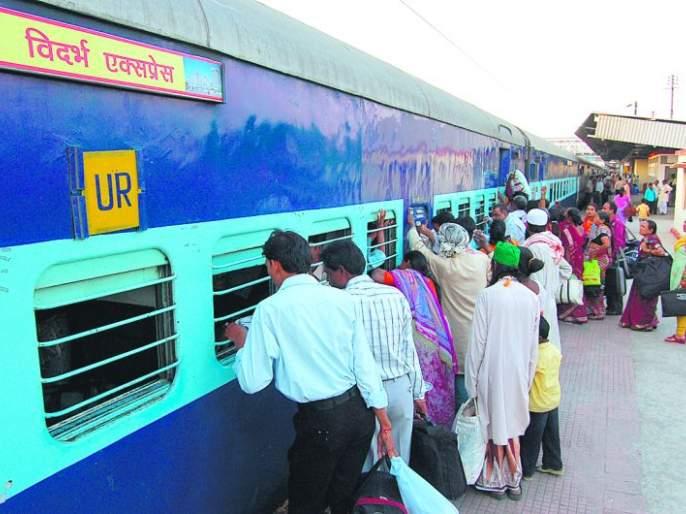 Shortage of block breaks in Nagpur section of Central Railway | मध्य रेल्वेच्या नागपूर विभागात ब्रेक ब्लॉकचा तुटवडा