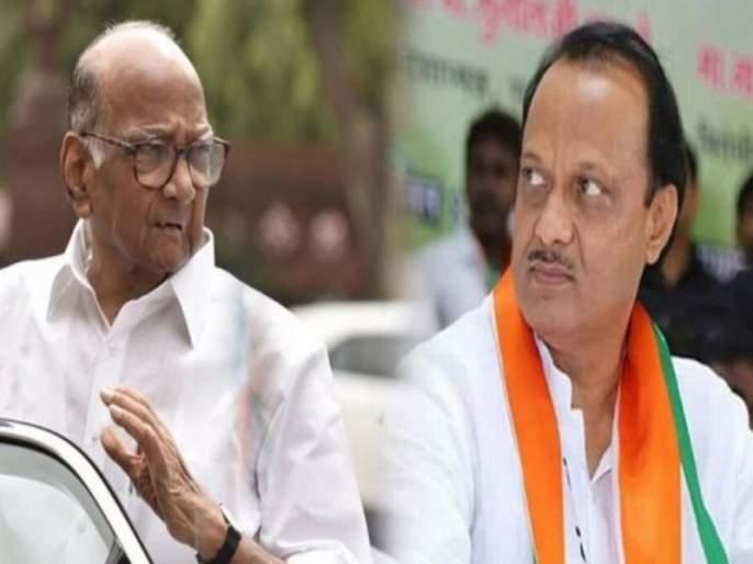 Ajit Dada going to Mumbai after 'Sharad Pawar ' call | 'साहेबां'च्या एका कॉलनंतर अजितदादा बारामतीमधून मुंबईसाठी रवाना