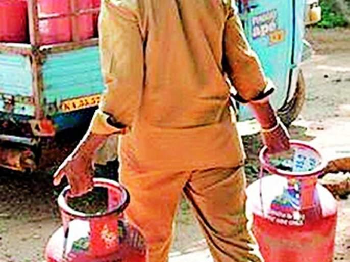 Customers should be careful, check the gas cylinder | ग्राहकांनो सावधान, गॅस सिलिंडरची करा तपासणी