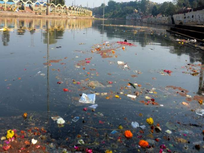 In four years, 3,000 people polluted the warehouse!   चार वर्षांत ३ हजार लोकांनी केले गोदामाईला प्रदूषित!