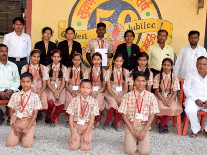 SG Intermediate Middle School student selected at the state level | एस.जी.इंग्लिश मिडीयम स्कूलच्या विद्यार्थ्याची राज्य पातळीवर निवड