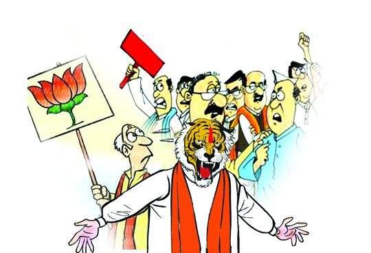 BJP 'safe' in Nagpur municipality; Challenge in district council elections | नागपूर महापालिकेत भाजप 'सेफ'; जिल्हा परिषदेच्या निवडणुकीत आव्हान