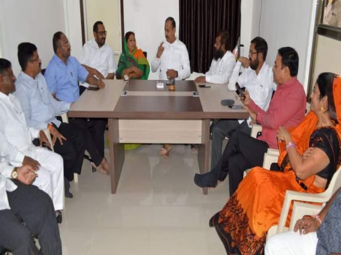 All parties favorable for development in Dhule Zilla Parishad elections | धुळे जिल्हा परिषद निवडणुकीत महाविकास आघाडीसाठी तीनही पक्ष अनुकूल