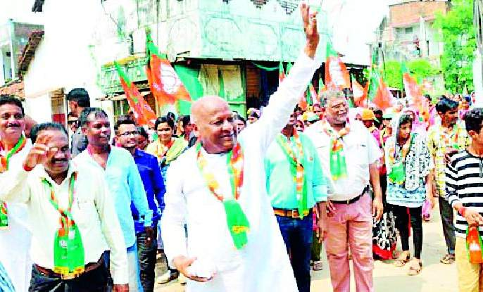 Maharashtra Election 2019 ; Dangoli irrigation project will enrich farmers | Maharashtra Election 2019 ; डांर्गोली सिंचन प्रकल्पामुळे शेतकरी समृद्ध होणार