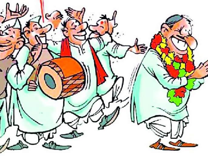 Maharashtra Election 2019 ; Rebellion and the fight against thorns   Maharashtra Election 2019 ; बंडखोरीमुळे चुरशीची आणि काट्याची लढत