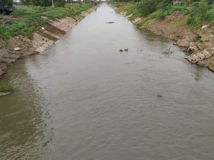 In the water district in the left canal of the Jaikwadi project | जायकवाडी प्रकल्पाच्या डाव्या कालव्यातील पाणी जिल्ह्यात
