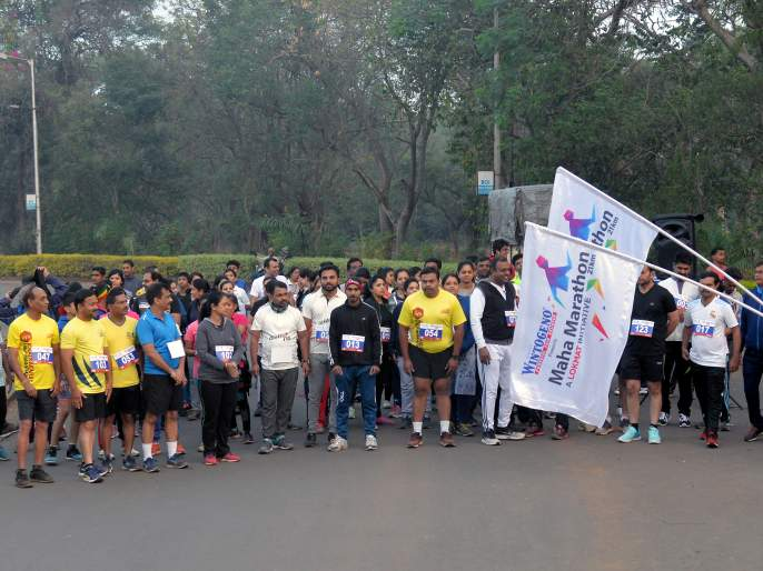 The thrill of the 'Lokmat Maha Marathon' on January 5   'लोकमत महामॅरेथॉन'चा थरार पाच जानेवारीला