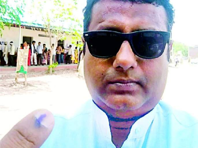 Lok Sabha Election 2019; Around 62 percent voters have voted in the city | Lok Sabha Election 2019; शहरात सरासरी ६२ टक्के मतदारांनी बजावला हक्क