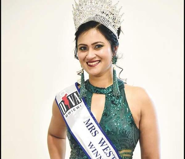 Dr. Vritika Patil is winner of 'Mrs West Asia' | नागपुरातील डॉ. वर्तिका पाटील 'मिसेस वेस्ट एशिया' विजेत्या