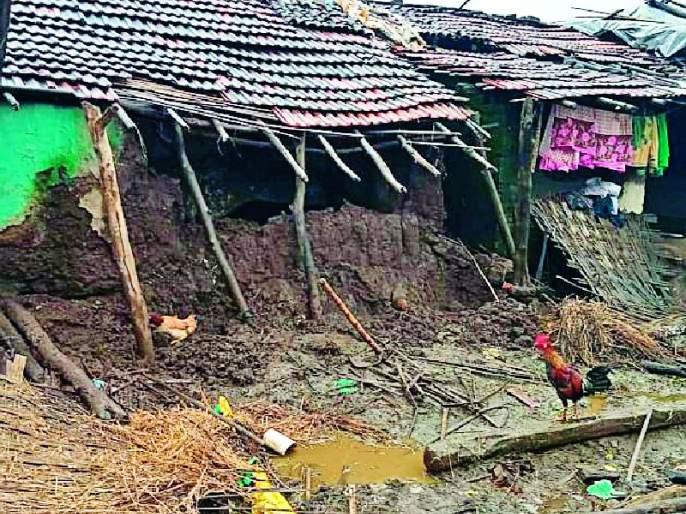 Precipitation in Chhildara taluka   चिखलदरा तालुक्यात अतिवृष्टी