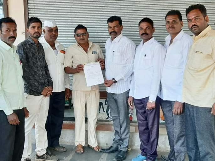 Sanjay Sathe is the taluka of the Maharashtra State Onion Producers Farmers Association | महाराष्ट्र राज्य कांदा उत्पादक शेतकरी संघटनेच्या तालुकाध्यक्षपदी संजय साठे