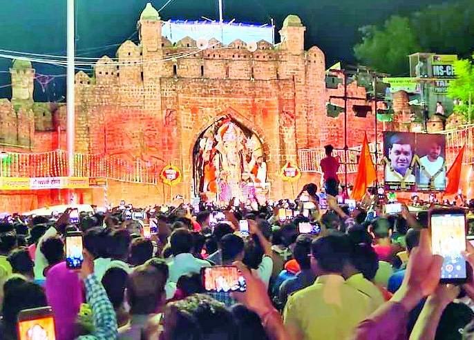 Immersion of 3 Ganesh idols in Chandrapur | चंद्रपुरात ८८४३ गणेशमूर्तींचे विसर्जन