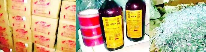 Fake on the counterfeit liquor factory | बनावट दारुच्या कारखान्यावर धाड