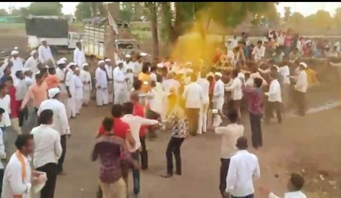 Khanderao Maharaj's Yatra was organized at Satara   सातारे येथे खंडेराव महाराज यात्रोत्सवाची सांगता