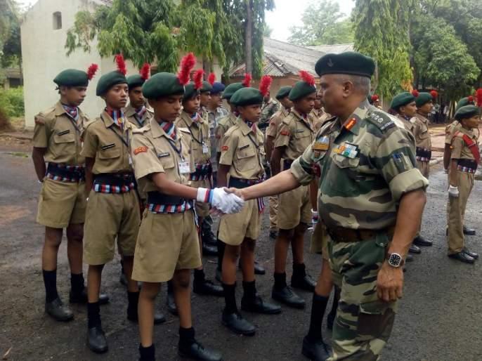 Pimpalgaon High School's NCC cadets won gold medals in all camps | पिंपळगाव हायस्कुलच्या एनसीसी कॅडेटने मिळविली सर्व शिबिरांमध्ये सुवर्ण पदके