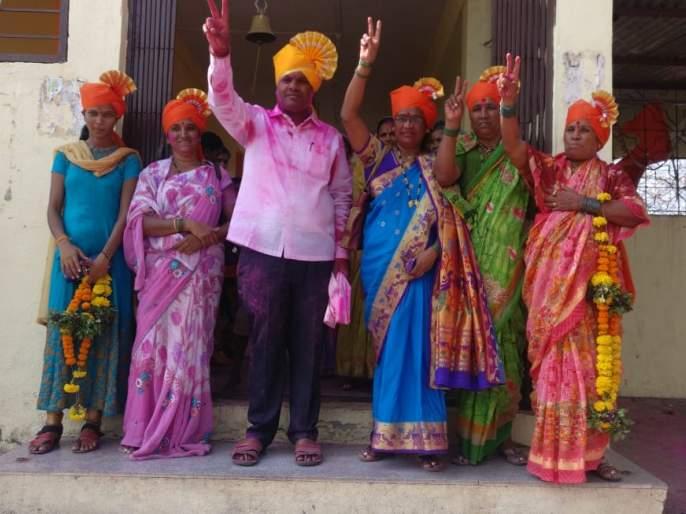 Panhalasheth Pimpalkhute Third Group Gram Panchayat Sarpanch Manashakti Dhanraj Palve | पन्हाळसाठे पिंपळखुटे तिसरे ग्रुप ग्रामपंचायत सरपंचपदी धनराज पालवे