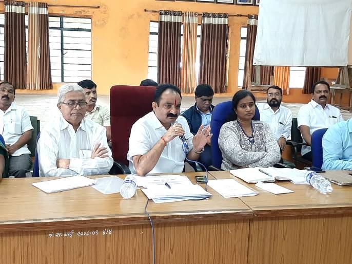 Immediately submit a proposal to the Government by Panchnama: Makrand Patil   पंचनामे करून शासनाकडे प्रस्ताव त्वरित सादर करा: मकरंद पाटील