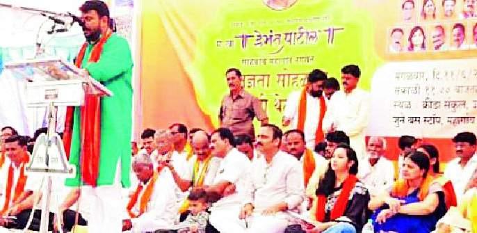 Let's say love first, then Shiv Sena style | आधी प्रेमाने सांगू, नंतर शिवसेना स्टाईल