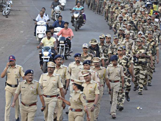 The Ayodhya body alerts the police on all levels | अयोध्या निकालाची पोलिसांकडून सर्व पातळ््यांवर सतर्कता