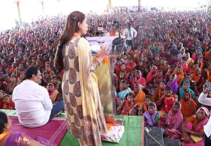 BJP launches 'women empowerment' | भाजपने केले 'महिला सक्षमीकरण'