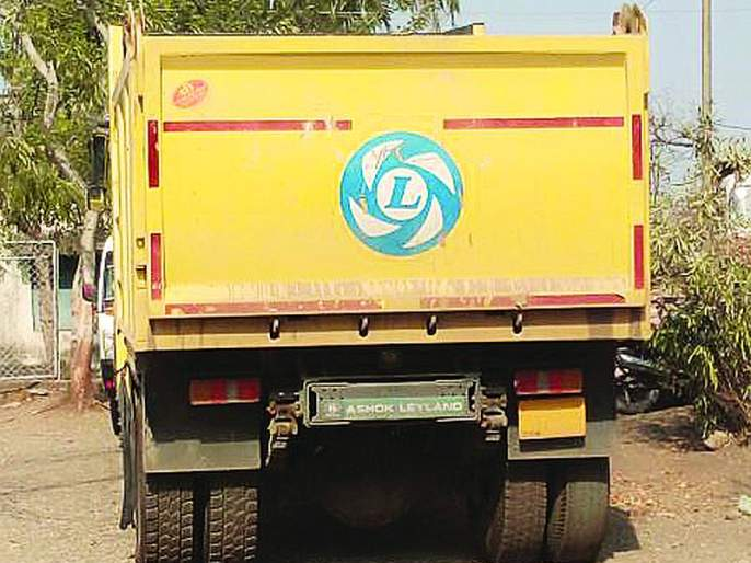 Illegal transport of sand, the owner of the vehicle has to pay two lakh penalty | रेतीच्या अवैध वाहतूक प्रकरणी वाहन मालकास दोन लाखावर दंड