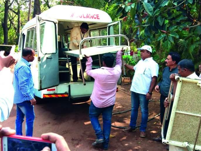 Six slots disappeared due to the Sangli municipality's hostel | सांगली महापालिका प्रसुतिगृहातून सहा खाटा झाल्या गायब