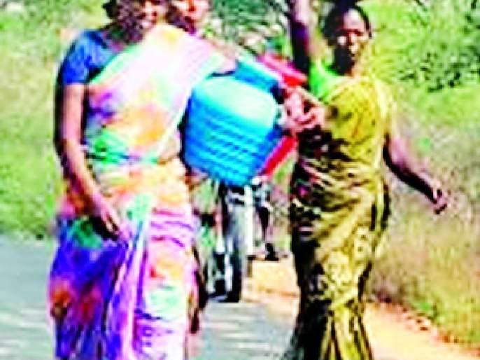 Half a kilometer of drinking water | पिण्याच्या पाण्यासाठी अर्ध्या किमीची पायपीट