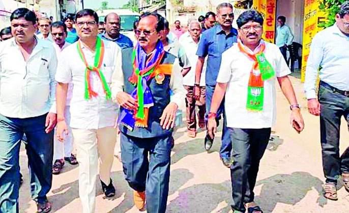 Maharashtra Election 2019 : People love BJP for development works   Maharashtra Election 2019 : विकास कामांमुळे जनतेचे भाजपवर प्रेम