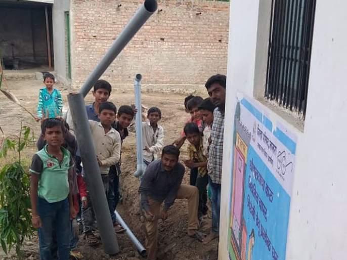 Rainwater Harvesting saves 1.5 crore liters of water   रेन वॉटर हार्वेस्टिंगमुळे ३.२२ कोटी लिटर पाण्याची बचत
