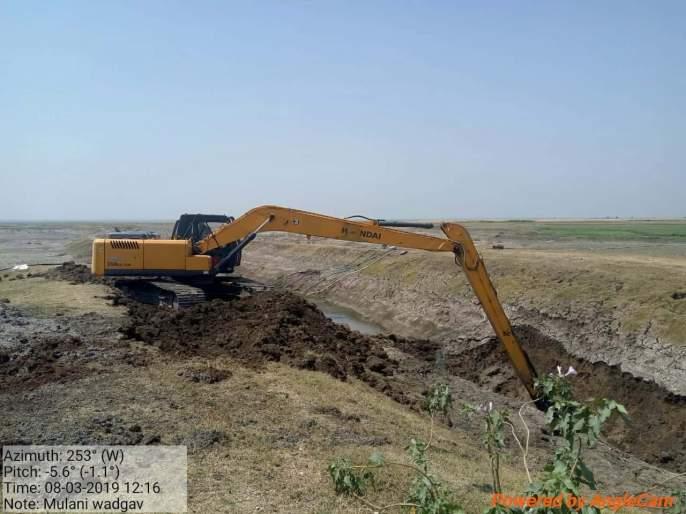 Action on farmers digging fields in the restricted area of 'Jaikwadi' | 'जायकवाडी'च्या प्रतिबंधित क्षेत्रात चर खोदणाऱ्या शेतकऱ्यांवर कारवाई