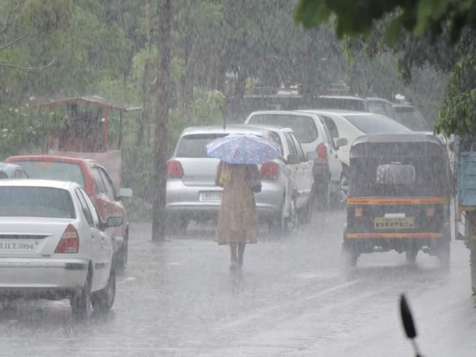 Satara: After ten days Mahabaleshwar, Navjala rain | सातारा : दहा दिवसांनंतर महाबळेश्वर, नवजाला पाऊस