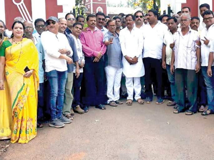 Do not interfere with the domestic question | Maharashtra Election 2019 : घरगुती प्रश्नात लुडबूड करू नये, तेली यांचा केसरकर यांना टोला