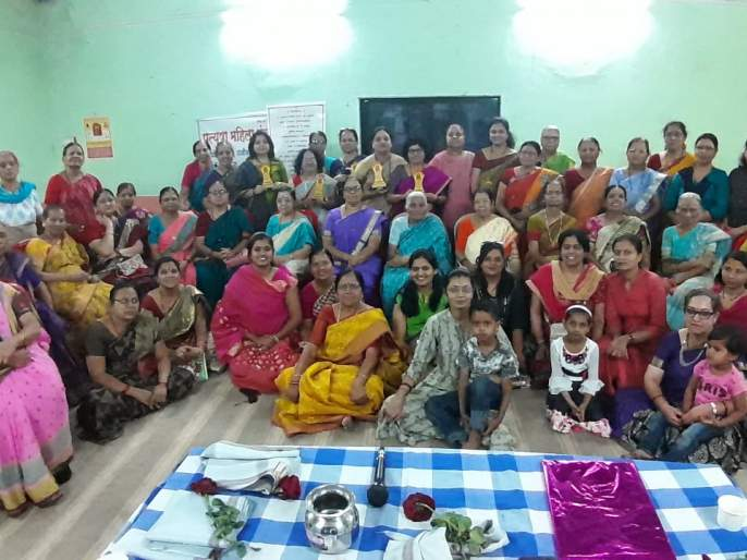 Lecture on Empowerment by Pratyusha Mahila Mandal   प्रत्युषा महिला मंडळातर्फे सबलीकरणावर व्याख्यान