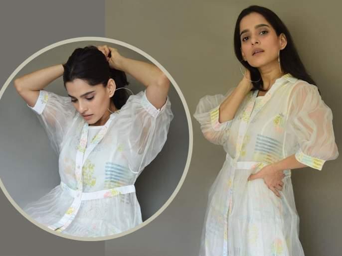 Marathmoli actress Priya Bapat's summer look has come to the fore   मराठमोळी अभिनेत्री प्रिया बापटचा समर लूक आला समोर, चाहत्यांची मिळतेय पसंती
