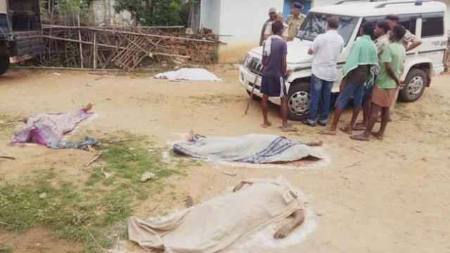 4 old men murdered by witchcraft suspicion | जादूटोण्याच्या संशयावरून ४ वृद्धांची हत्या