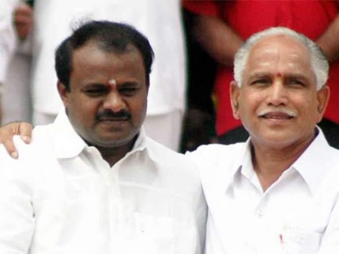 Yeddyurappa Vs Kumarswamy had 12 year history for Chief minister post | कुमारस्वामींना मिळतंय १२ वर्षांपूर्वीच्या 'कर्मा'चं फळ?; यावेळी येडियुरप्पांचं पारडं जड