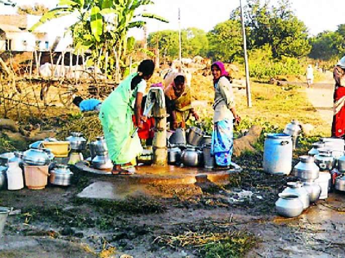 Water scarcity measures are ineffective   पाणीटंचाईच्या उपाययोजना झाल्या प्रभावहीन