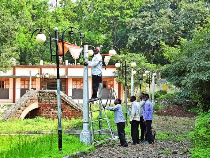 Shivaji Park beautification; Municipal corporation take initiative | शिवाजी पार्क सौंदर्यीकरण; महापालिका सरसावली!